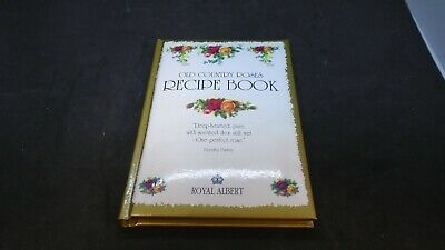 Royal Albert Old Country Roses Recipe Book HardCover 1992