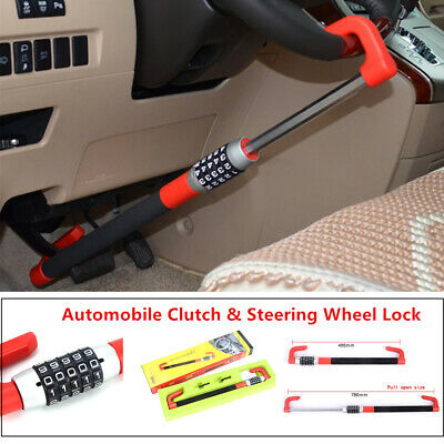 Anti Theft&Anti-drilling Car Steering Wheel Lock Van Security Device Clutch Lock