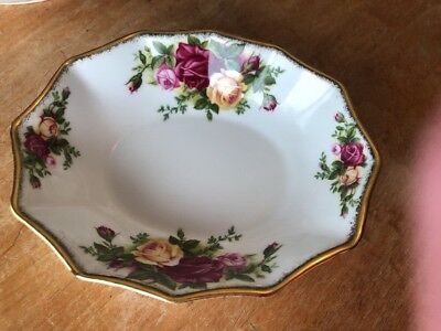Royal Albert OLD COUNTRY ROSES CANDY/ NUT DISH -OCP