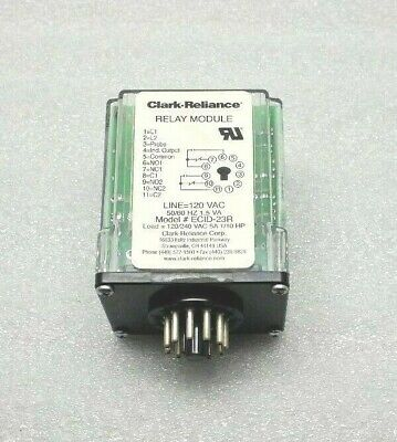 New Clark Reliance Ecid-23R Relay Module