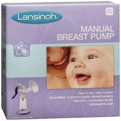 Lansinoh Manual Breast Pump, Efficient, Comfortable,Light Weight & Quiet Sealed
