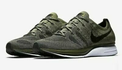 a3ee928a08b97 NEW NIKE FLYKNIT Trainer AH8396-102 White Mens Size 10 WMNS Size ...