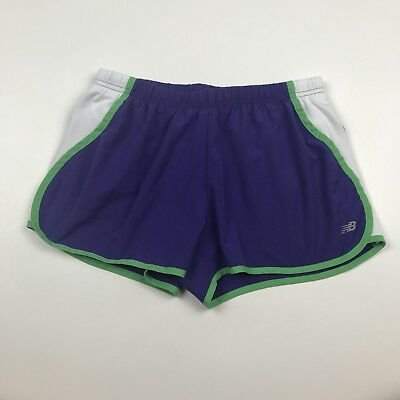 4934f6782a4d6 NEW BALANCE WOMENS Black Pink Running Athletic Shorts Size Small ...