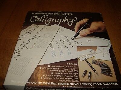 Scheaffer No Nonsense Pen Calligraphy Set