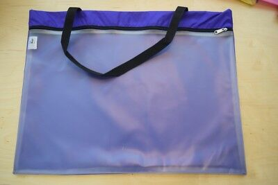 Full protection Needlework Project Tote by Ashland Sky made in USA Large purple