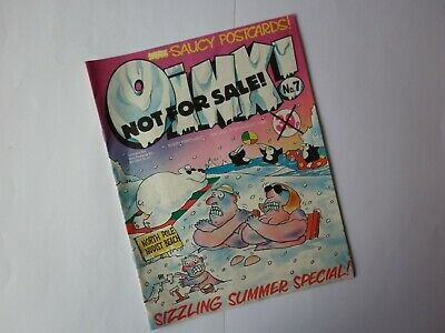 OINK!  ( VIZ style Comic )- Sample Issue - No. 7 July 1986