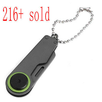 Outdoor Mini Portable Folding Key Chain Knife Steel Camping Pocket Survival Tool