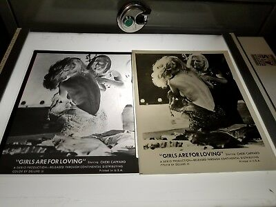 8 X 10 Negative & Photo From Movie Girls Are For Loving 1973 Fighting Scene