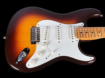 2015 Fender Stratocaster Custom Shop American Custom Strat ~ Chocolate Sunburst
