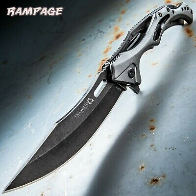 United Rampage Tailwind Ball Bearing Open Tactical Pocket Knife 4746 3Cr13 New