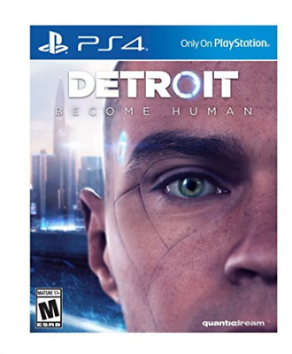 Detroit Become Human Ps4 (Uk Import) Game New