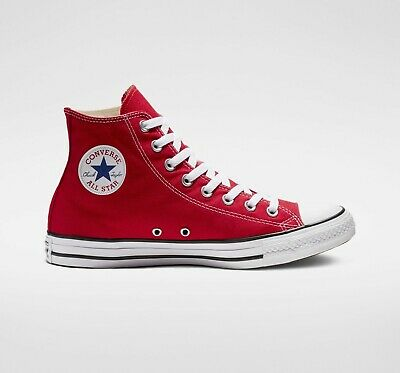 439626011 NWB UNISEX CONVERSE Chuck Taylor All Star Hi Red #M9621 - $42.95 ...