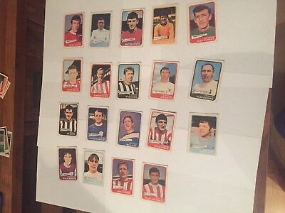 A&BC Yellow Back Football Cards 1968 - VGC!  Pick the ones you need £2 each