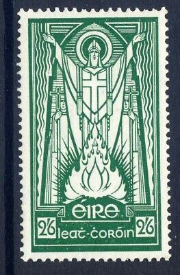 Ireland 1937 Definitive 2/6D Emerald-Green Fresh Mounted Mint. Gibbons 102.