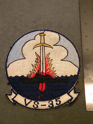 US NAVY SQUADRON Patch, VS-35, Japanese made