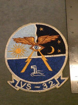 US NAVY SQUADRON Patch, VS-32, Japanese made