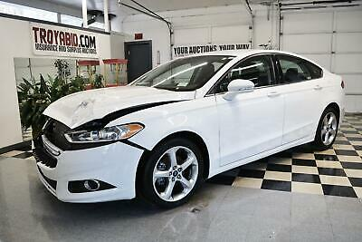 2015 Fusion NO RESERVE 2015 Ford Fusion SE 27k Miles Repairable Salvage Car Rebuildable Damaged
