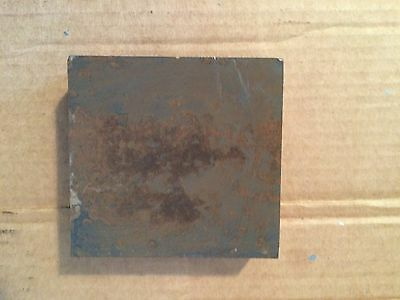 (1)pc. 1 3/16 Inch Thick X 3 9/16 Inch X 4 1/8 Inch Rectangular Plate A36