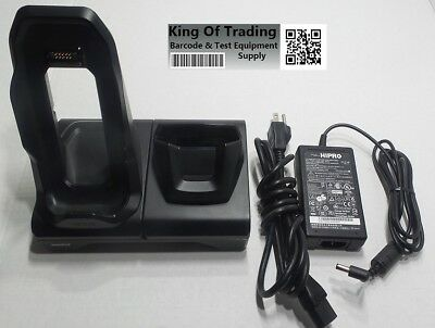 Zebra Motorola 2-Slot TC70 TC700H TC75 Charger Cradle CRD-TC7X-SE2EU1-01 Battery