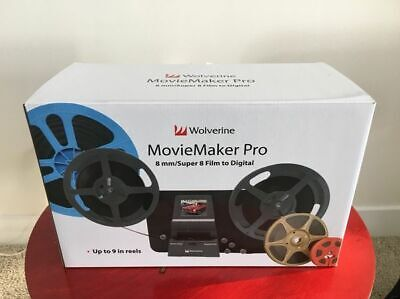 NEW WOLVERINE 8MM Super 8 Reels To Digital Moviemaker Pro Film Digitizer