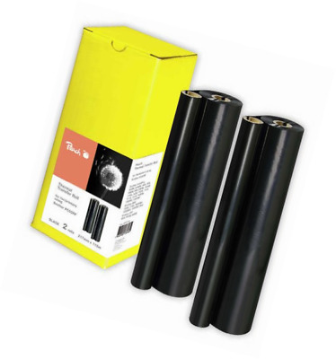 2 Peach Thermal Transfer Rolls, compatible with Xerox, Konica Minolta, Brother,