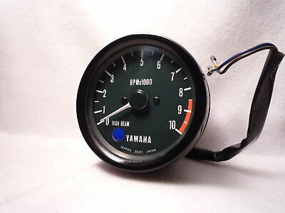 YAMAHA MECHANICAL REV COUNTER TACHOMETER rd250 rd200 rd400 xs650 cable driven