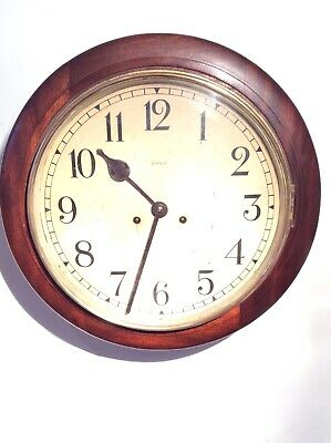 Enfield School Dial OR School/Railway clock by Smiths of Enfield School