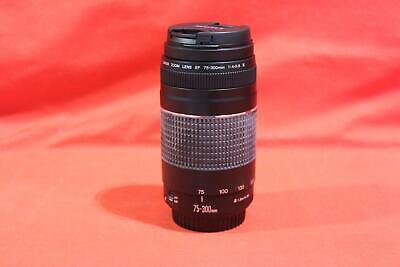 Canon - EF - 75-300mm - 1:4-5.6 - Digital SLR Camera Lens