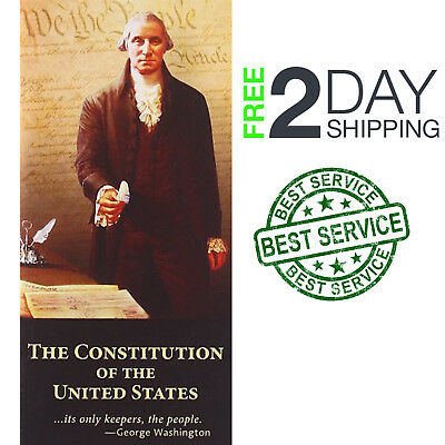 The Constitution of the United States Declaration Independence Paperback Pocket