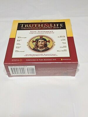 TRUTH AND LIFE Dramatized Audio Bible New Testament 18 audio cds