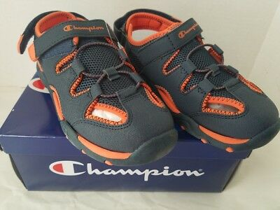 89533bd54 CHAMPION BOYS SHOES SANDALS Fisherman Sport Athletic Sz 4 YOUTH ...