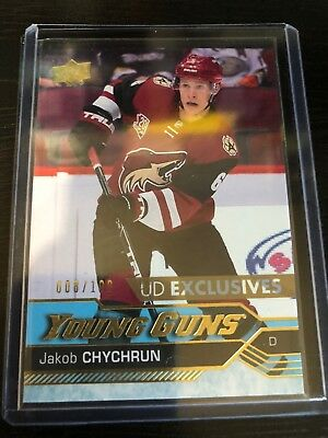 Jakob Chychrun 2016/17 Upper Deck Young Guns Rookie UD EXCLUSIVE /100