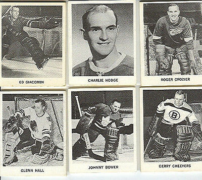 1965-66 Coke Coca Cola Nhl Complete Hockey Card Set In Panels Howe Hull Esposito