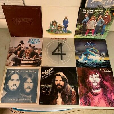 15 Classic Rock/Pop Vinyl LP Lot - BOB SEGER FOREIGNER KRISTOFFERSON WINWOOD