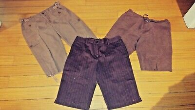 Huge lot of sz 12/13/14/L Name brand Shorts,capris, casual and career!
