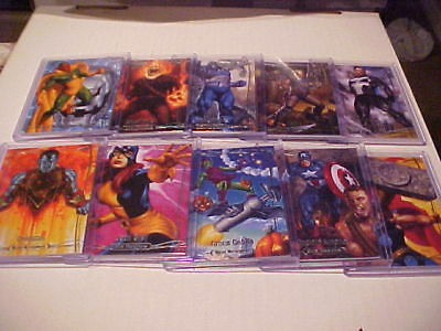 2016 Marvel Masterpieces Base SET Lot of 31 MANY TIER 3 Thor,Captain America++