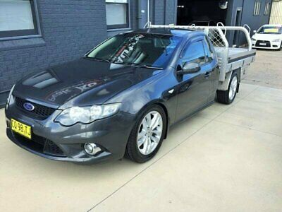 2009 Ford Falcon FG XR6 (LPG) Grey Automatic 4sp A Cab Chassis