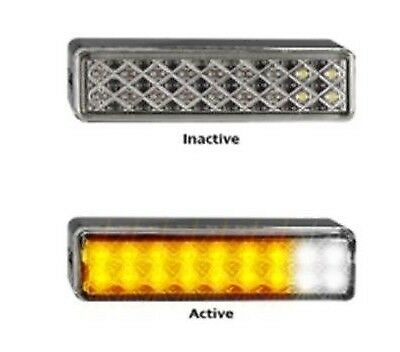 Bull Bar Front Indicator & Marker X 2 Lamps Surface 135 Series Led Autolamps