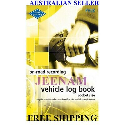 Vehicle Book Zions Fbt Pocket Pvlb Ato Compliant Car,Truck +Free Shipping