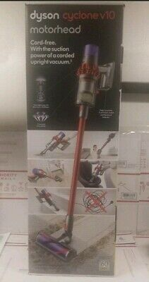 NEW Dyson Cyclone V10 Motorhead Lightweight Cordless Stick Vacuum Cleaner RED