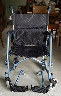 Max Mobility Transit Wheelchair - Used 3 times only - 7Kg Light!