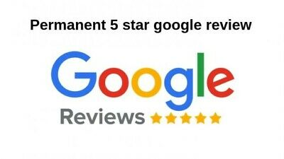 1x REAL FIVE STAR GOOGLE REVIEW (FAST DELIVERY) ⭐⭐⭐⭐⭐