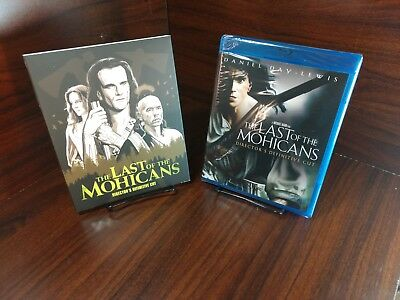 The Last of the Mohicans (Blu-ray)Collector Edition Slipcover-NEW-Free Shipping