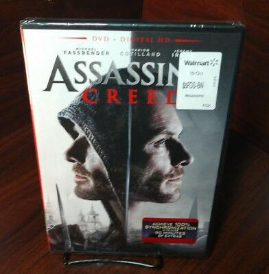 Assassins Creed (DVD+Digital)Brand NEW(Sealed)Free Shipping with Tracking