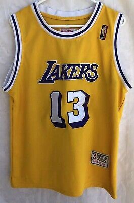 e1ff4df70254 Los Angeles Lakers Wilt Chamberlain Mitchell   Ness Classic Jersey Size 48
