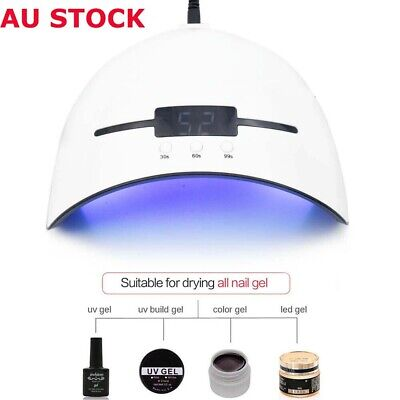 36W LED UV Nail Dryer Gel Polish Lamp Salon Curing Manicure Machine 48W USB