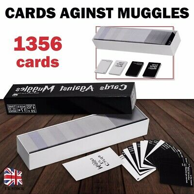 New Sealed Cards Against Muggles 1356 Cards Harry Potter Limited Edition Game UK