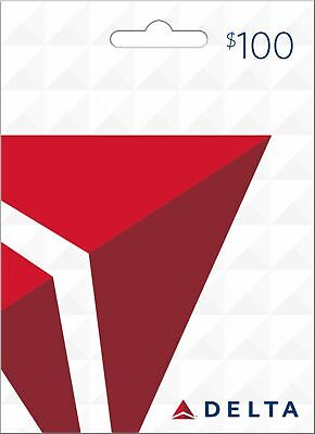 Delta Air Lines Gift Card $100 - Fast email delivery same day