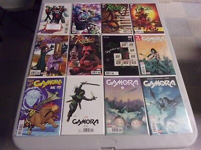 Guardians Of The Galaxy Tie-In Series Lot (Star-Lord/gamora/secret Wars/more)