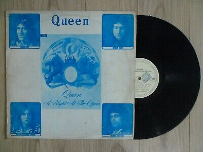 QUEEN  - A night At The Opera KOREA LP Blue Cover
